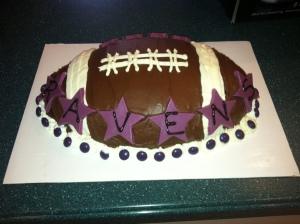 Ravens cake