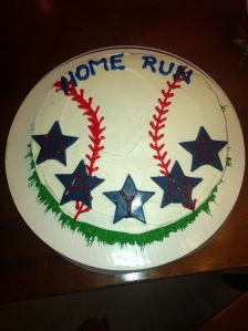 Dayne Home Run Cake
