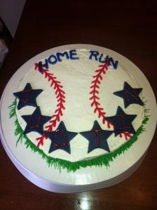 Justin Home Run Cake