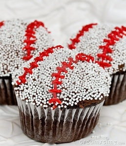 Baseball Cupcake version 3.0