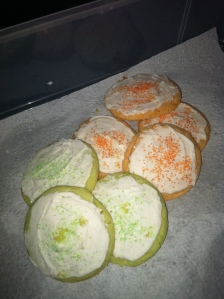 Key Lime and Orangesicle Cookies