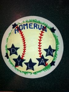 Dylan's Home Run Cake