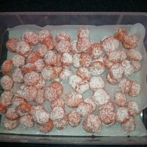 Pink lemonade gooey butter cookies