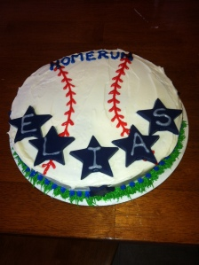 Elias homerun cake