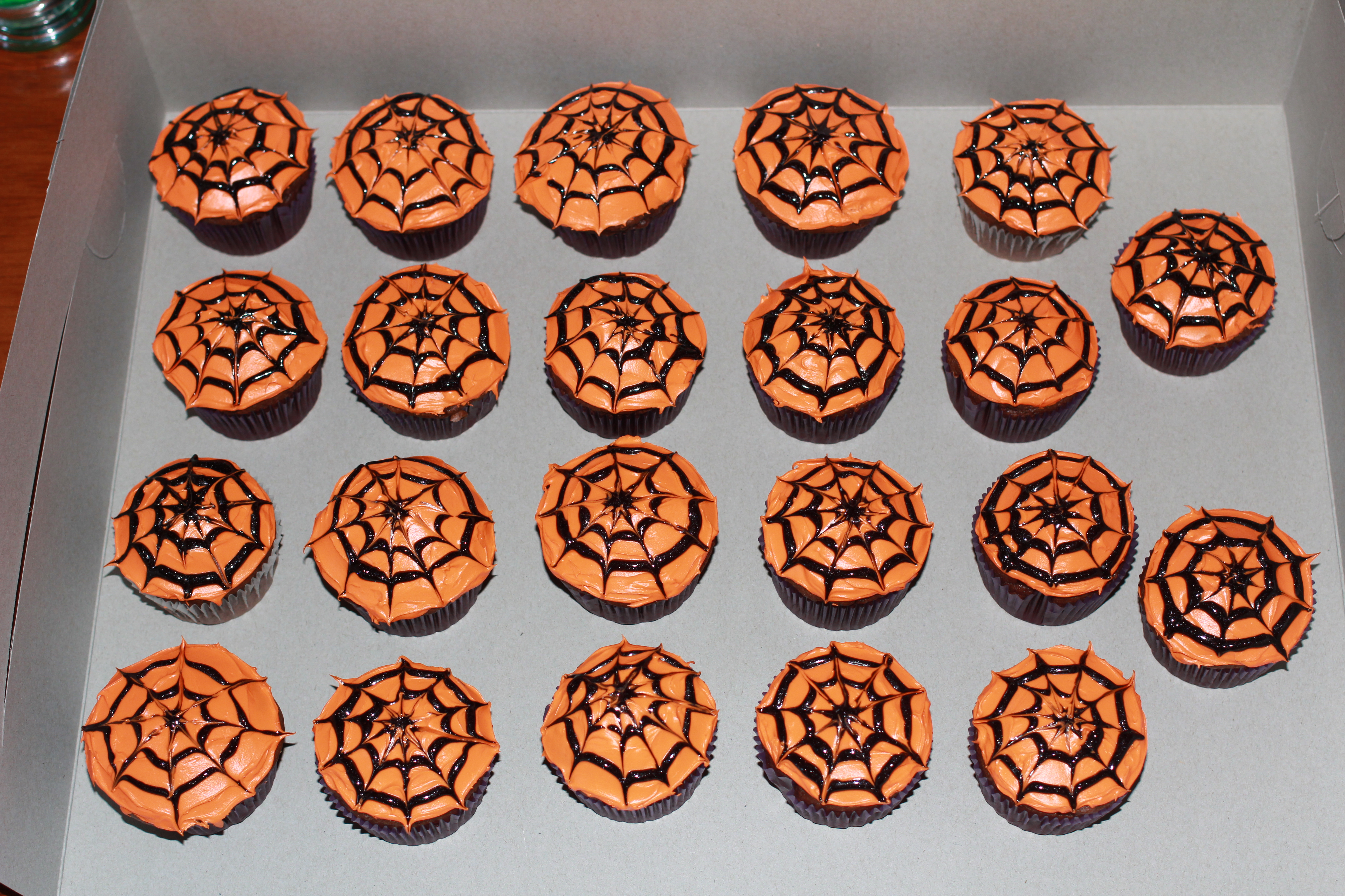 Spider Web Cupcakes Sweet Sweet Muffins
