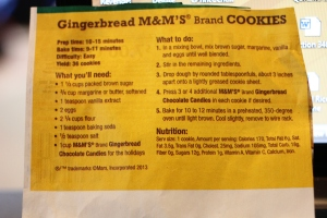 Recipe. And Nutrition information. Just ignore that part.