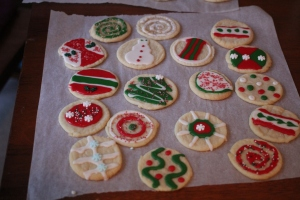 Rice Christmas Cookies 2