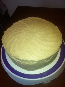 My snickerdoodle cake