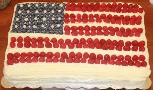 Flag Cake 1