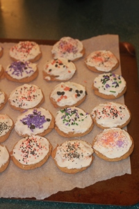 Perfectly pumpkin cookies