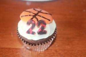 Kendall's birthday cupcake