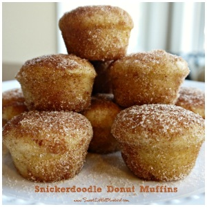 Inspiration Snickerdoodle Donut Muffins
