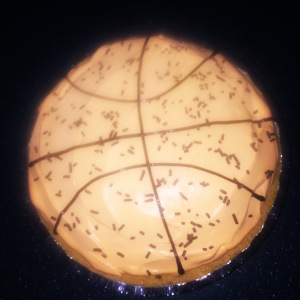 Basketball French Silk Pie