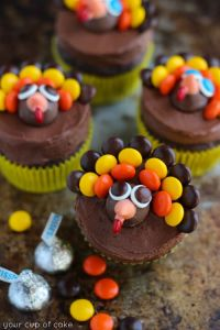 Turkey-Cupcakes-for-Thanksgiving