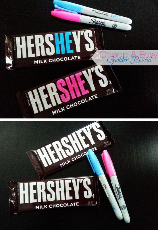 Hershey Bar Blue and Pink