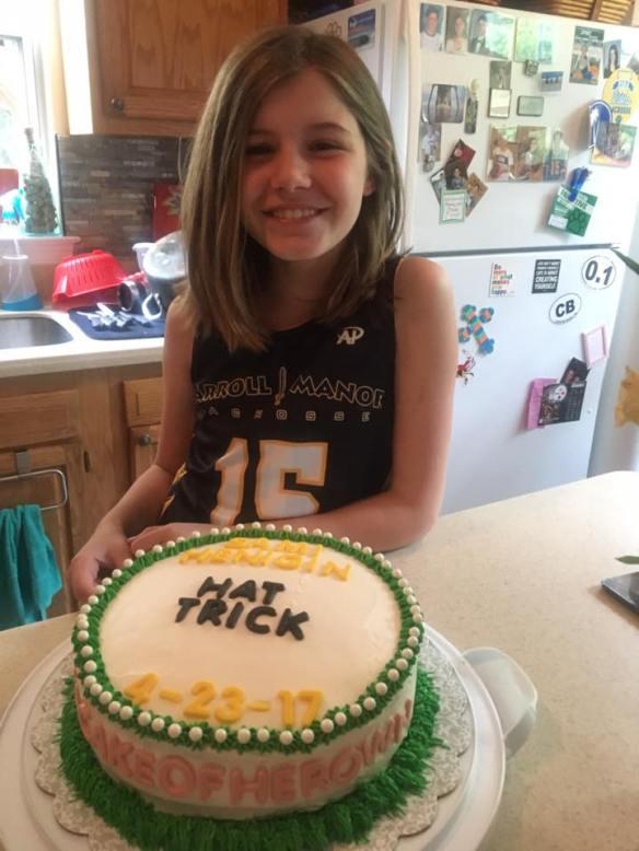 Sami with Cake