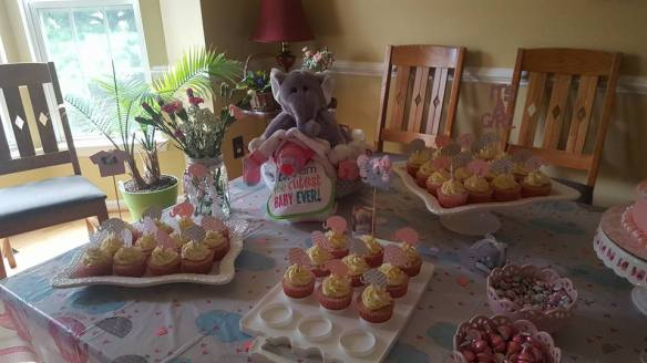 Baby Shower table 1