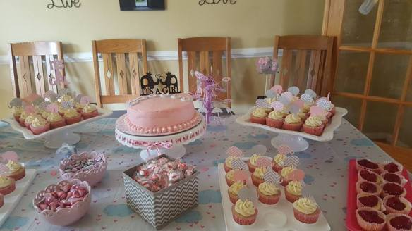 Baby Shower table 2